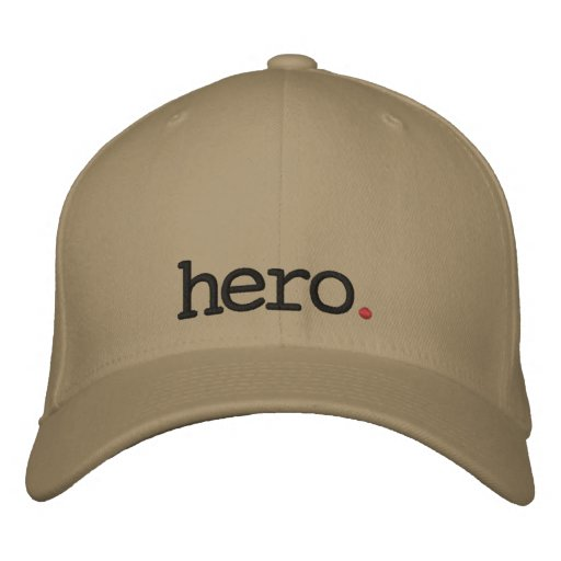 hero embroidered cap embroidered hat