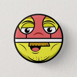 Hero Face 3 Cm Round Badge