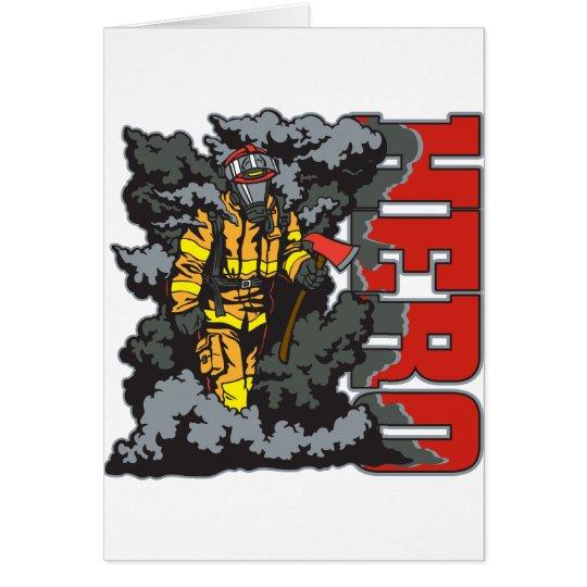 HERO Firefighter Card