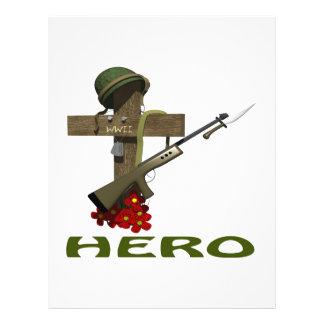 Hero Full Color Flyer