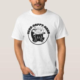 Hero Happy Hour Trio - Value White T-Shirt