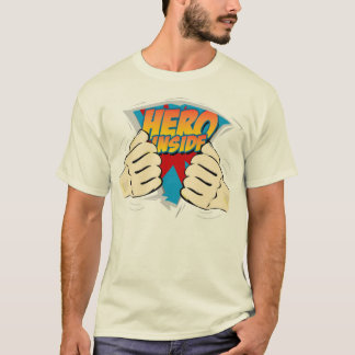 Hero Inside blue inside shirt