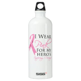 Hero Inspiring Courage Breast Cancer SIGG Traveller 1.0L Water Bottle