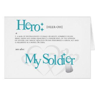 Hero My Soldier Card