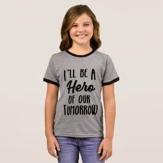Hero of Tomorrow Ringer T-Shirt