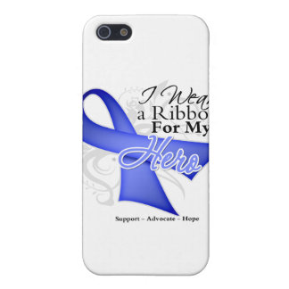 Hero Periwinkle Ribbon - Stomach Cancer iPhone 5 Covers