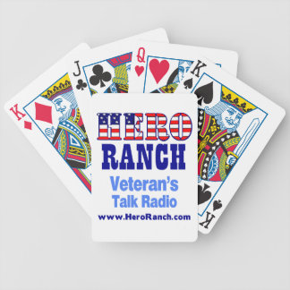 Hero Ranch Veteran s Talk Radio Bicycle Card Deck