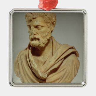 Herodes Atticus, marble head, Roman, 101-80 AD, pr Christmas Ornament