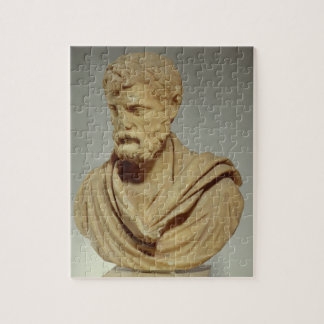 Herodes Atticus, marble head, Roman, 101-80 AD, pr Jigsaw Puzzle