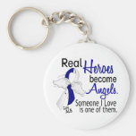 Heroes Become Angels ALS Key Chain