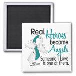Heroes Become Angels Cervical Cancer Magnets
