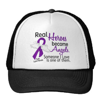 Heroes Become Angels Cystic Fibrosis Hat