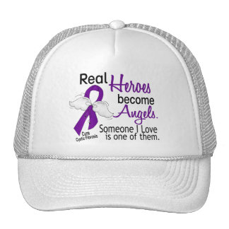 Heroes Become Angels Cystic Fibrosis Mesh Hats