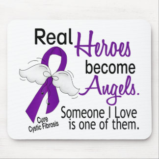 Heroes Become Angels Cystic Fibrosis Mouse Pad