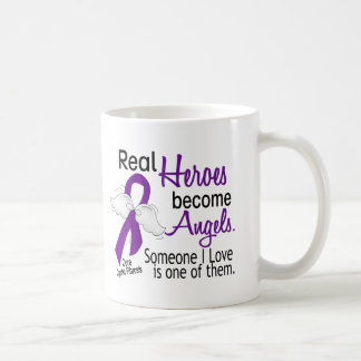 Heroes Become Angels Cystic Fibrosis Mugs