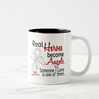 Heroes Become Angels Mesothelioma Coffee Mugs