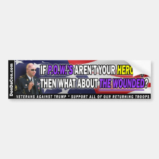 Heroes Bumper Sticker
