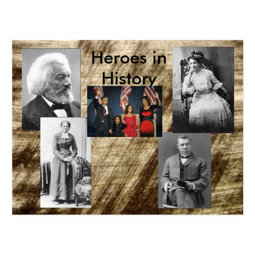 Heroes in History Collection - Living Post Card