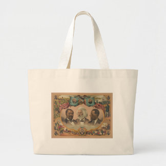 Heroes of the Colored Race Published by J Hoover Canvas Bags