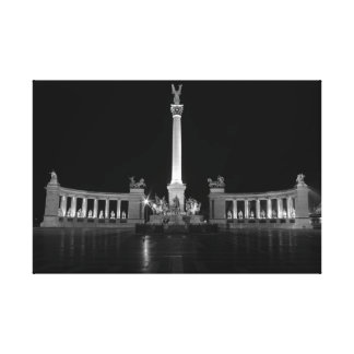Heroes Square Budapest Canvas Print