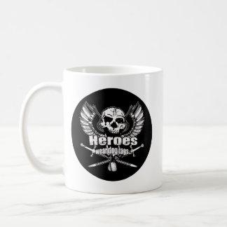 Heroes wear dog tags w. basic white mug
