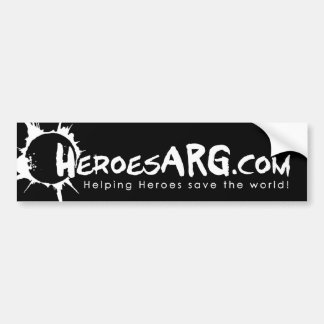 HeroesARG.com Bumper Sticker