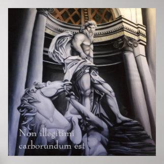 Heroic Greek Roman Scene poster