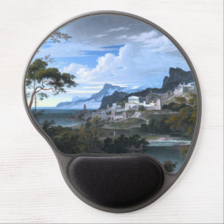 Heroic Landscape with Rainbow Gel Mouse Pad