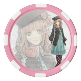 Heroine poker chip poker chips