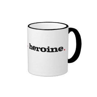 heroine ringer mug