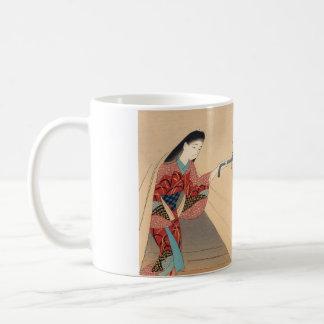 Heroine Toragozin Ishikawa Toraji japanese lady Basic White Mug