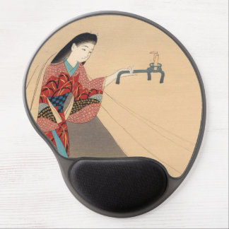 Heroine Toragozin Ishikawa Toraji japanese lady Gel Mouse Pad