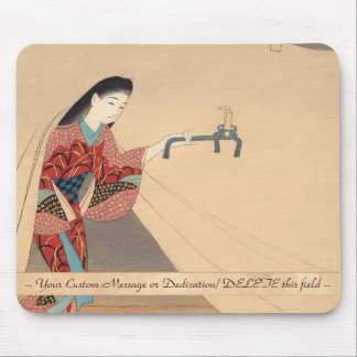 Heroine Toragozin Ishikawa Toraji japanese lady Mouse Pad