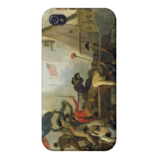Heroism of the Crew of 'Le Vengeur du Peuple' Cover For iPhone 4