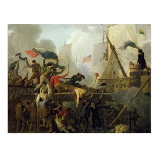 Heroism of the Crew of 'Le Vengeur du Peuple' Postcard