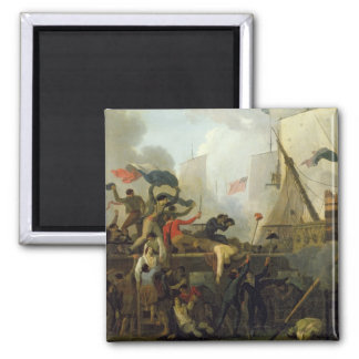 Heroism of the Crew of 'Le Vengeur du Peuple' Square Magnet