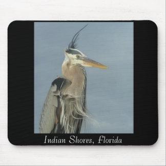 heron3, Indian Shores, Florida Mouse Pad