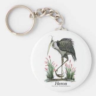 Heron bird, tony fernandes keychain