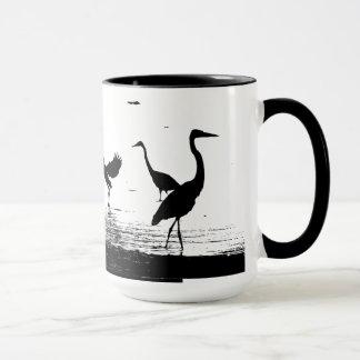 Heron Bird Wildlife Animals Wetlands Mug