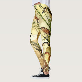 Heron Birds Wildlife All Over Print Legging