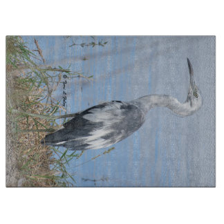 Heron Cutting Board