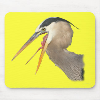 Heron Exposure Mouse Pad