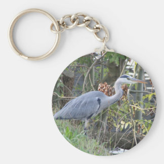 Heron Key Ring