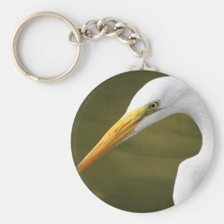 Heron Basic Round Button Key Ring