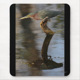 heron mouse pad
