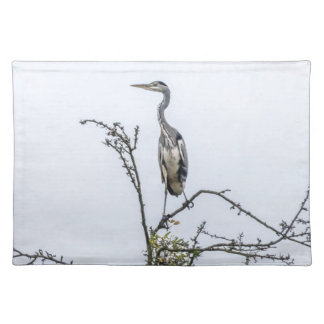 Heron on a tree placemat