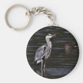 Heron Portrait Keychains