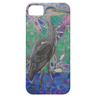Heron Stands in the Dee iPhone 5 Cases