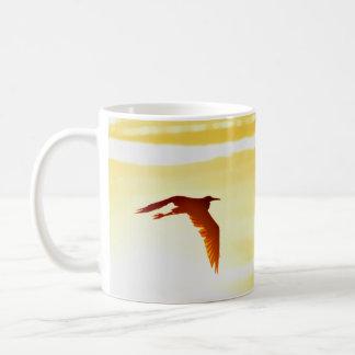 Heron Sunset Mug