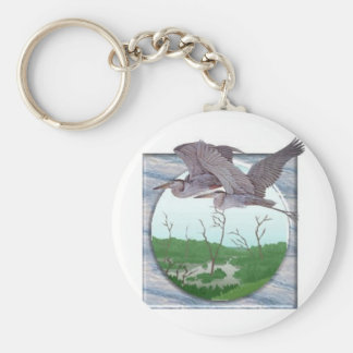 Herons Key Chain